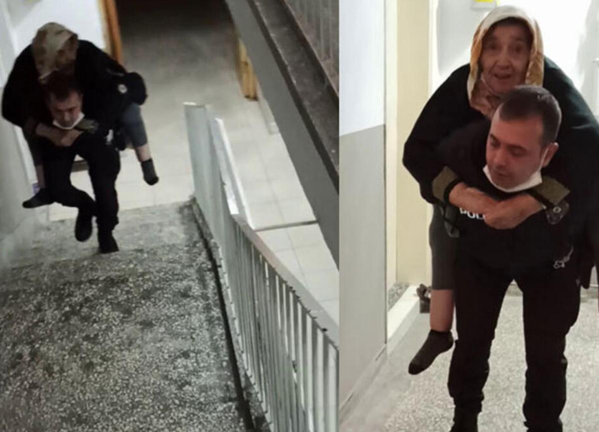 Süleyman Soylu Twitter'dan paylaştı! O polis memuru takdir topladı...