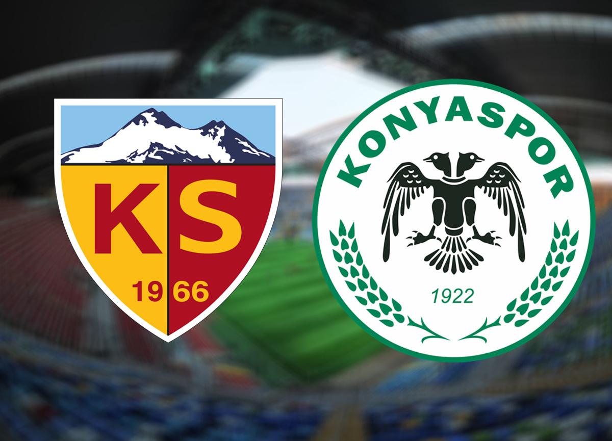 Kayserispor Konyaspor canlı izle | Kayserispor Konyaspor maçı saat kaçta hangi kanalda?