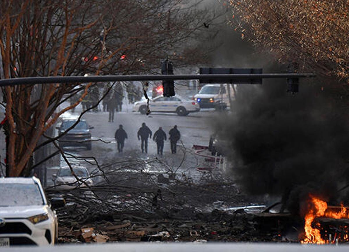 Son dakika: ABD'nin Tennessee eyaletinin Nashville kenti merkezinde şiddetli patlama