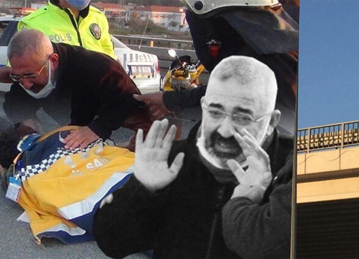 Antalya'da feci kaza! Yola savruldular!