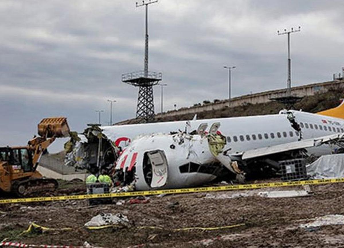 Sabiha Gökçen'de meydana gelen uçak kazasıyla ilgili bilirkişi raporu ortaya çıktı