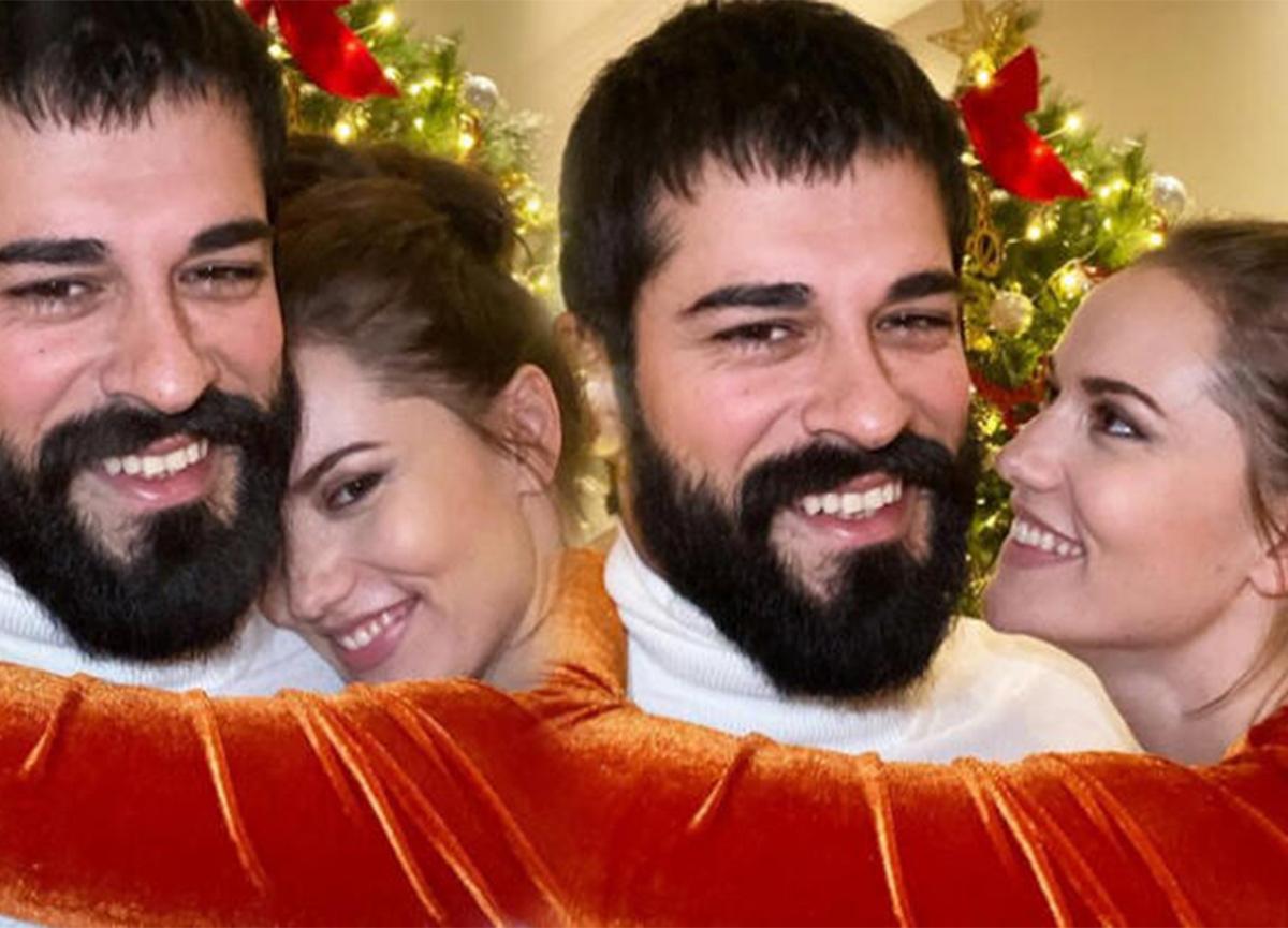 Fahriye Evcen'den Burak Özçivit'e romantik doğum günü kutlaması!