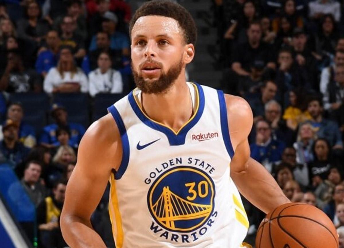 NBA yıldızı Curry 5 dakika 13 saniyede art arda 105 üçlük attı