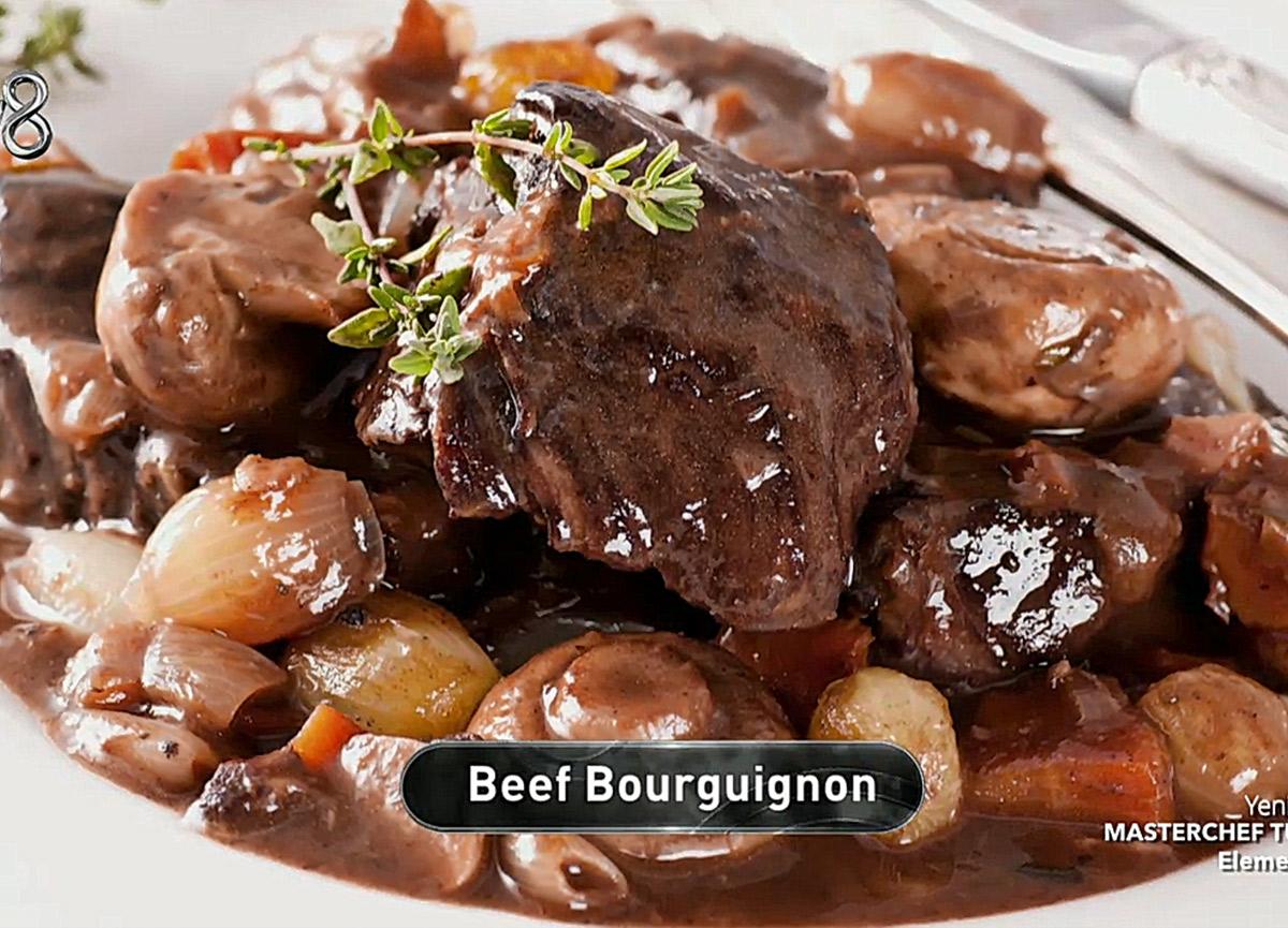 Beef Bourguignon nasıl yapılır? 27 Aralık MasterChef 2020 Beef Bourguignon tarifi, gerekli malzemeler