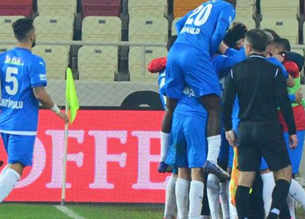 Erzurumspor, Malatyaspor'u devirerek 11 hafta sonra 3 puan aldı