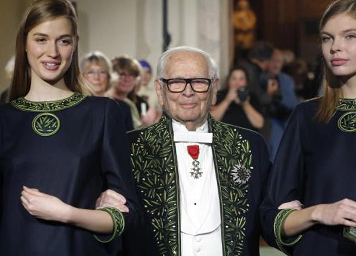 Ünlü modacı Pierre Cardin 98 yaşında hayatını kaybetti