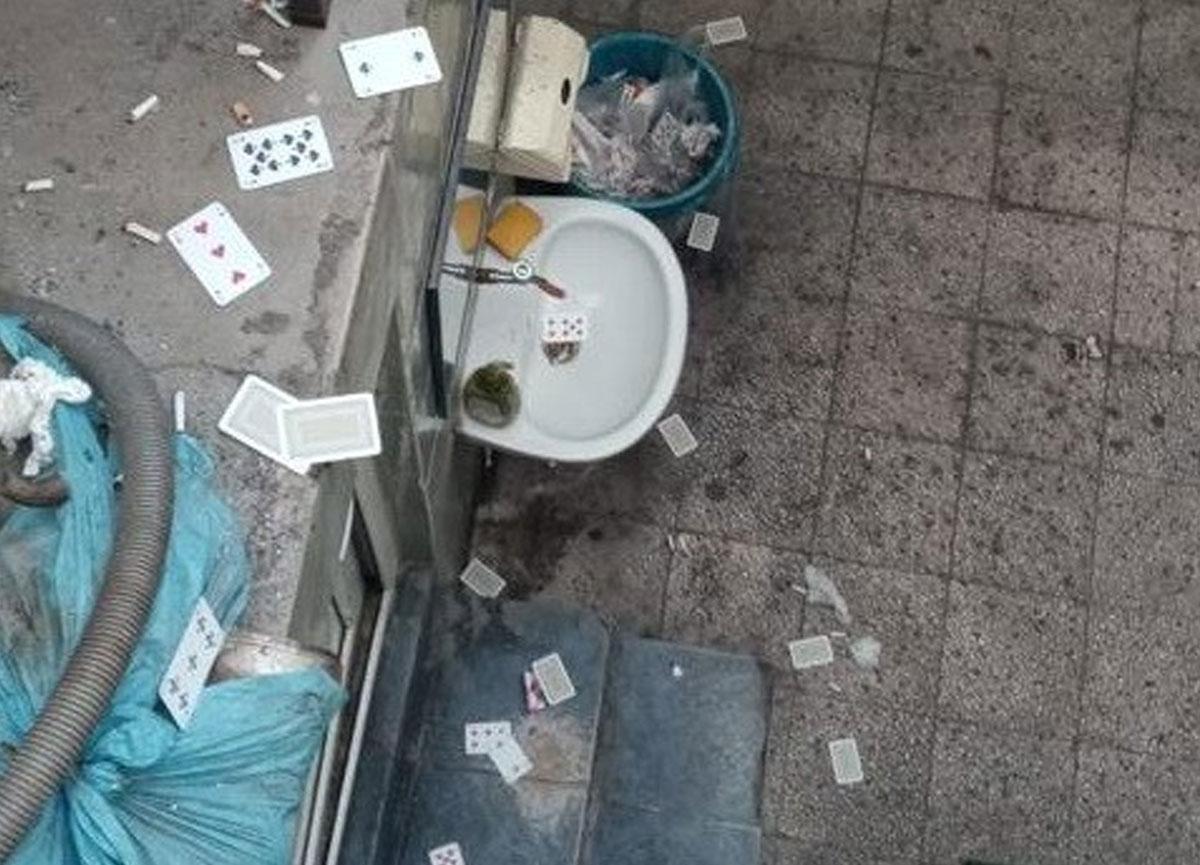 Polis kumar oynanan eve baskın yaptı, 53 bin TL para cezası kesildi