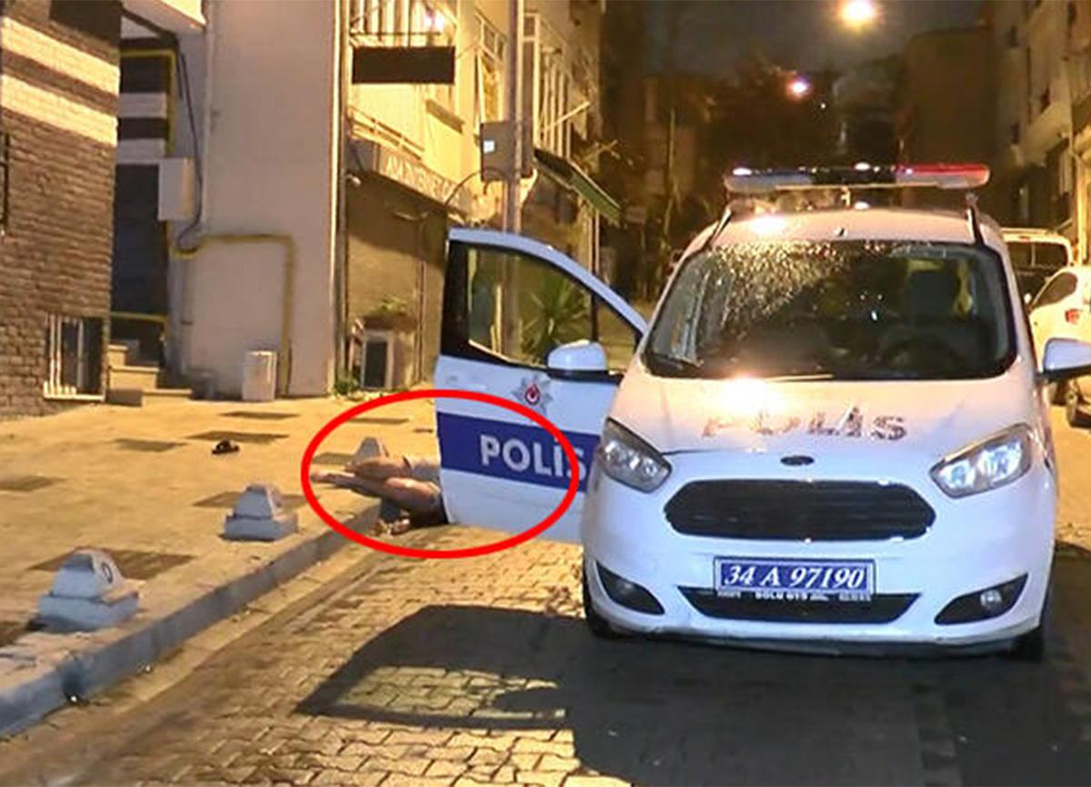 İstanbul'da bir genç, oturduğu apartmanın önünde ölü bulundu