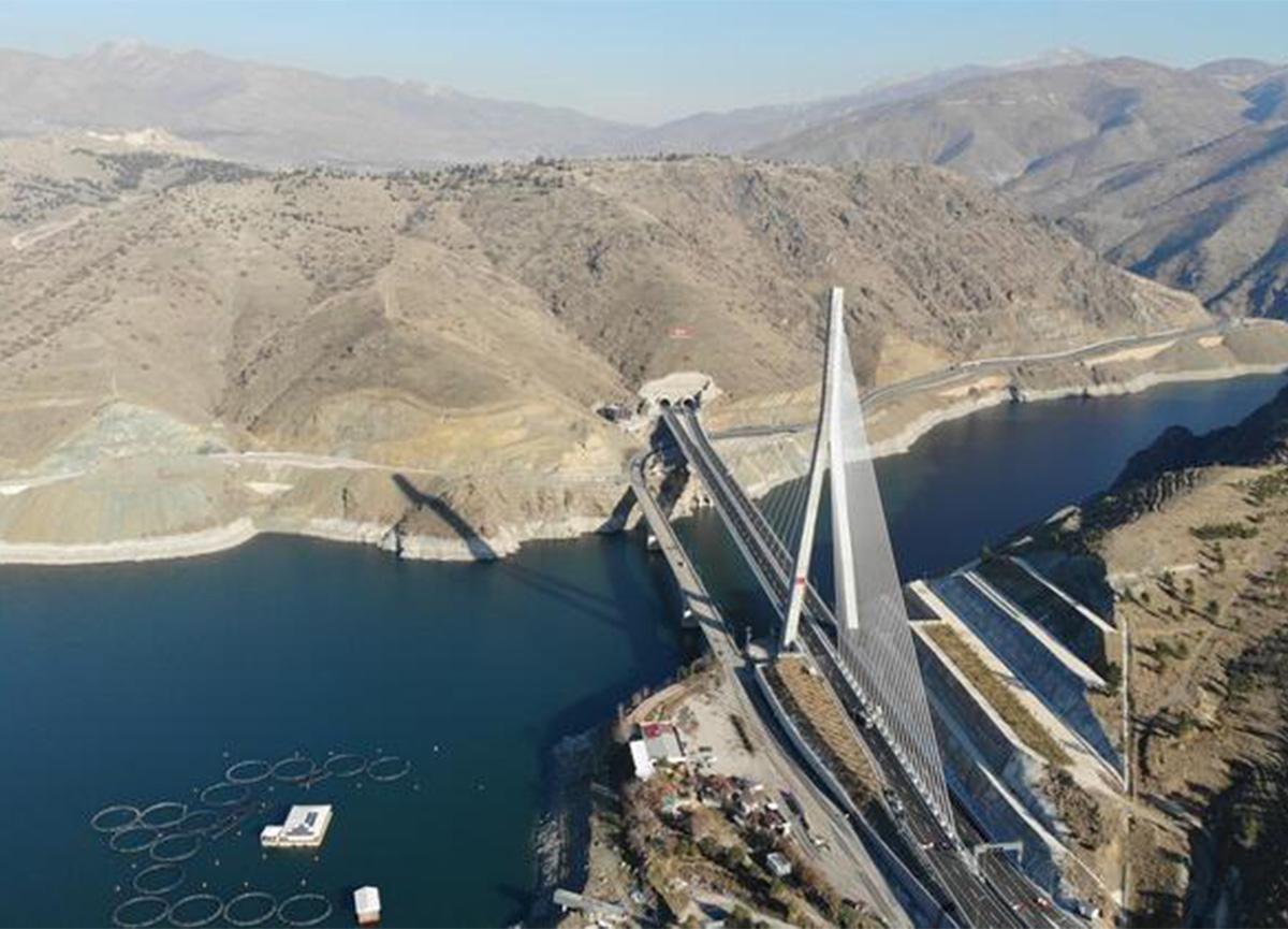 Kömürhan Köprüsü ve Bağlantı Tüneli yarın açılıyor!