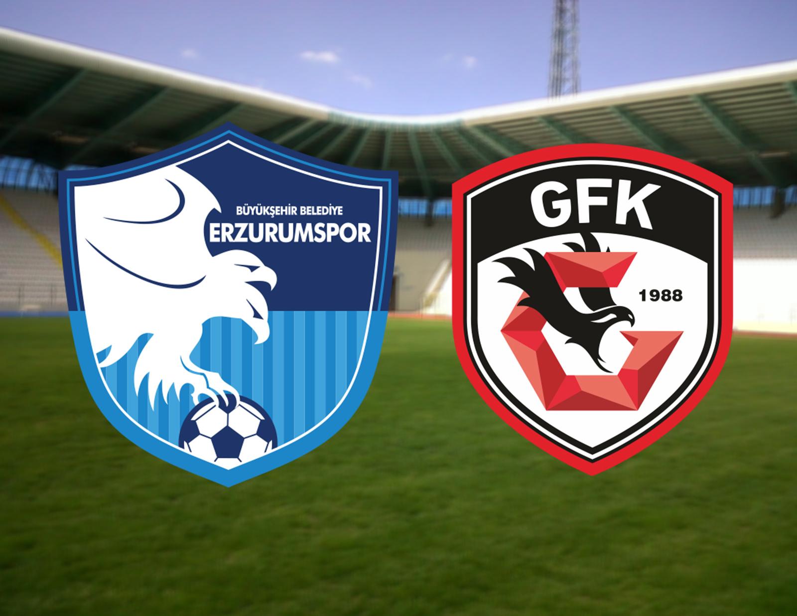 Erzurumspor Gaziantep canlı izle, canlı yayın   Erzurum Gaziantep maçı hangi kanalda canlı yayınlanacak?