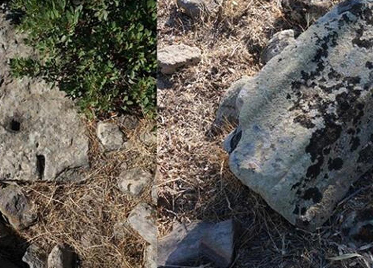İzmir Urla'da 2 bin 500 yıllık tapınak kalıntıları bulundu