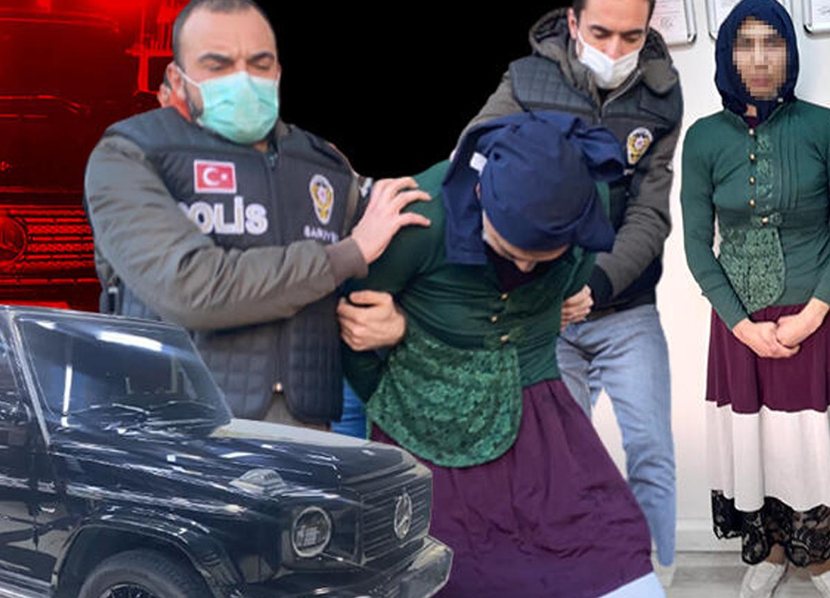 Yılbaşı gecesi kadın kılığına giren yabancı uyruklu şahıs 5 milyon lira değerindeki cipi çaldı