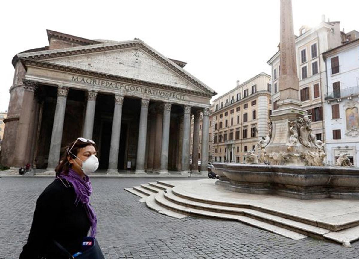 İtalya'da 1 günde 348 kişi koronavirüs nedeniyle hayatını kaybetti