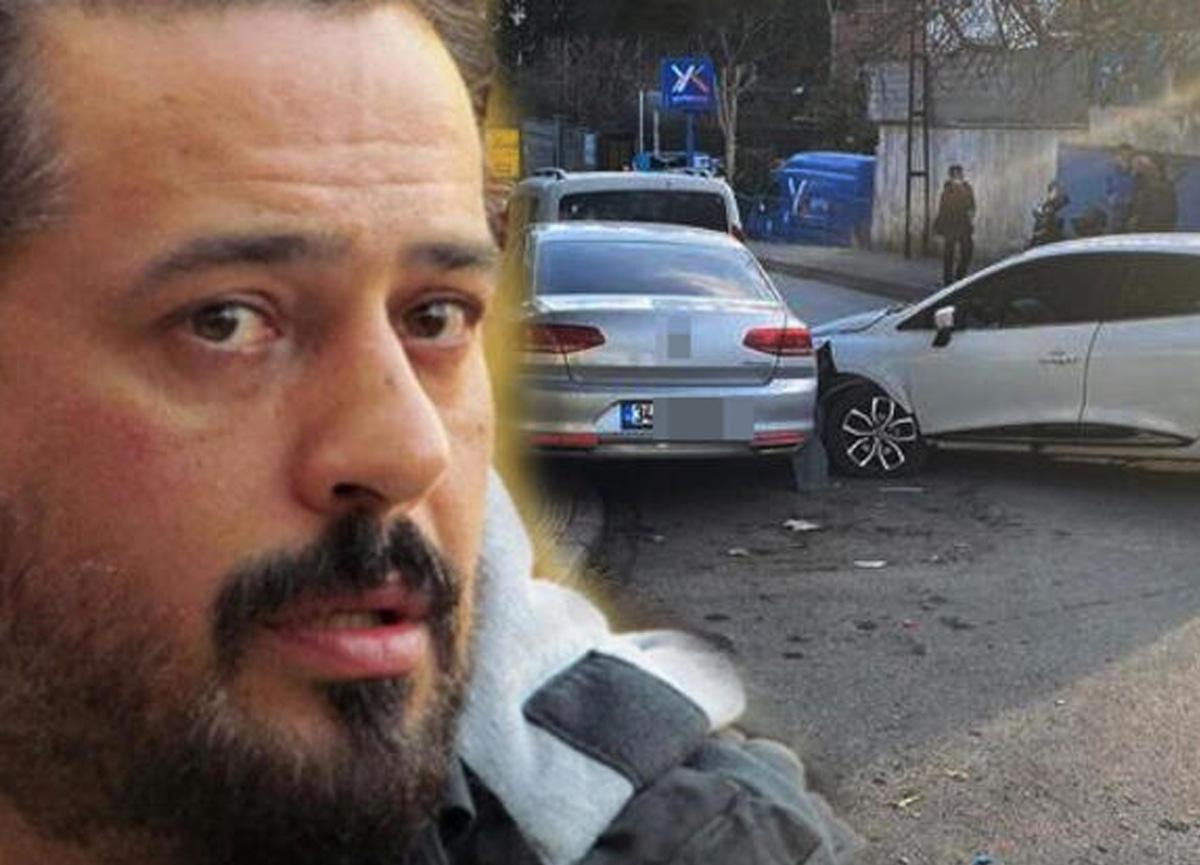 Sihirli Annem dizisiyle ekranlara dönen oyuncu Emre Altuğ Ortaköy sahil yolunda kaza yaptı