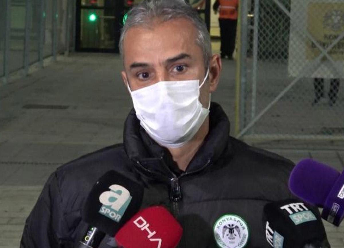 Konyaspor Teknik Direktörü İsmail Kartal: Hayatımda ilk kez kırmızı kart gördüm