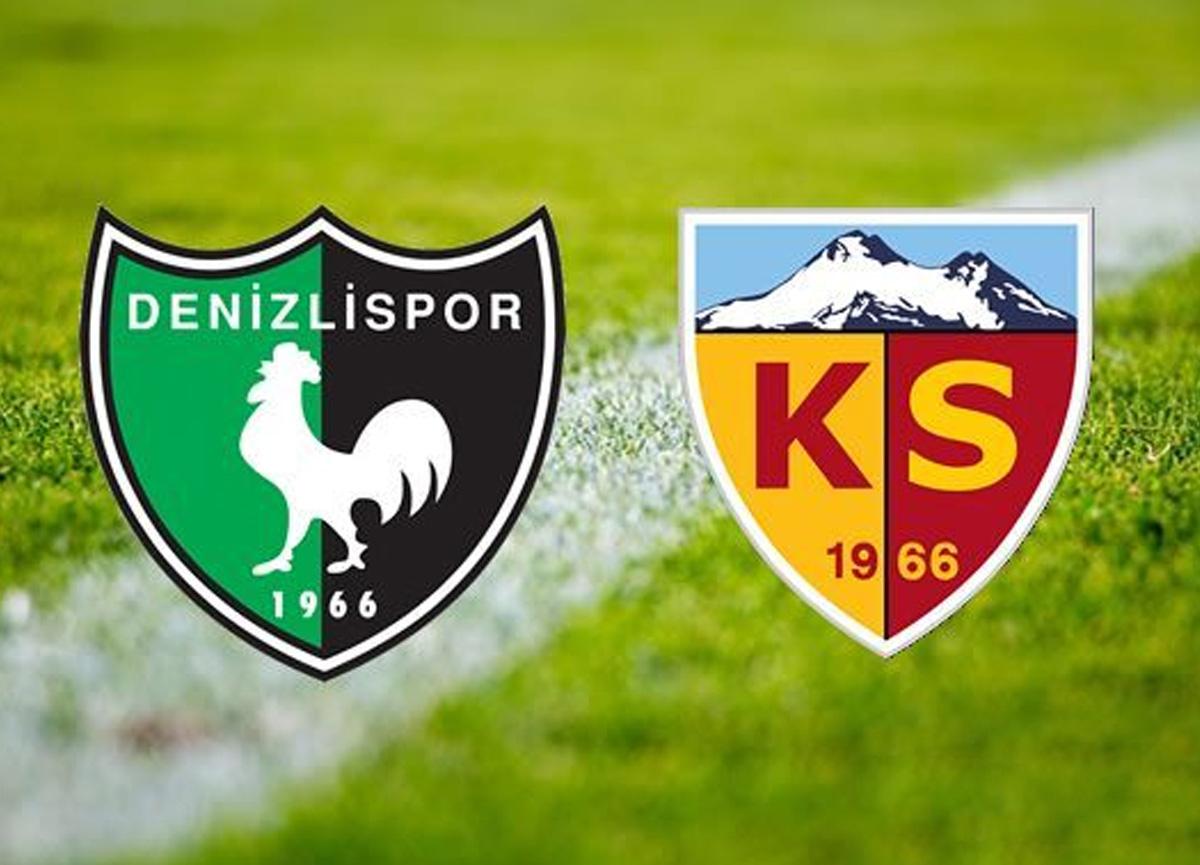 Denizlispor Kayserispor maçı canlı izle   Denizlispor Kayserispor maçı saat kaçta hangi kanalda?