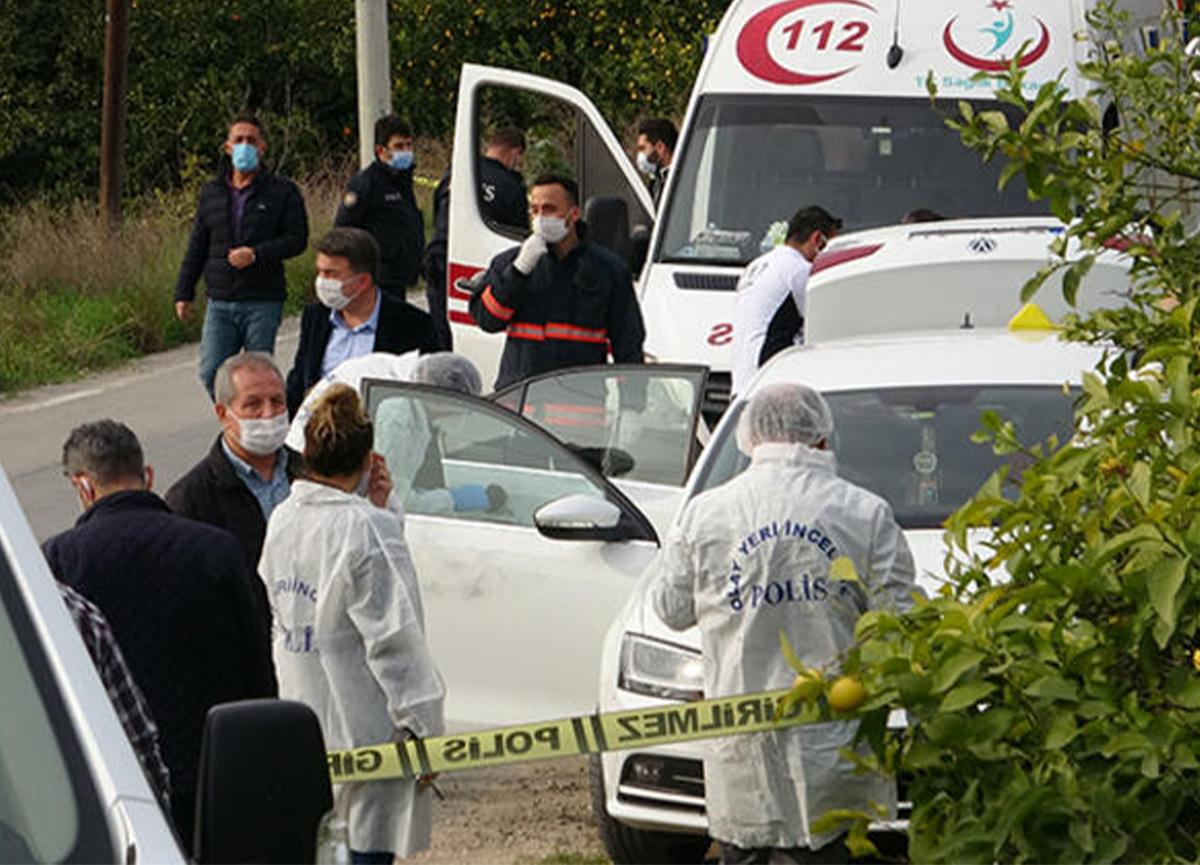Mersin'de dehşet! Otomobile yapılan silahlı saldırıda 2 kişi öldü!
