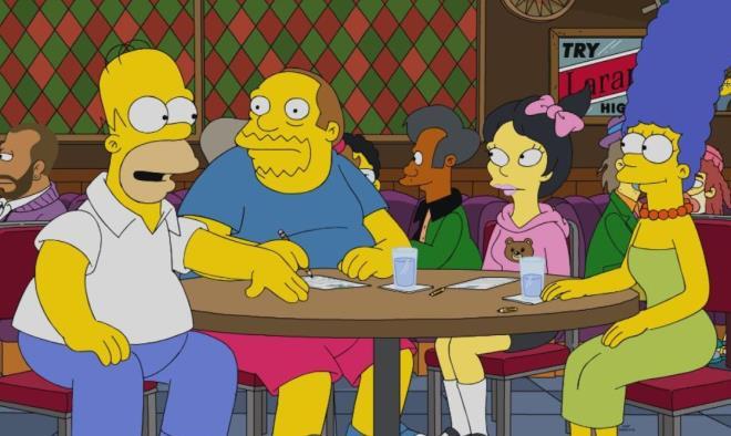 Simpsonlar yine bildi! Miğferli gösterici kehanetin en büyük kanıtı