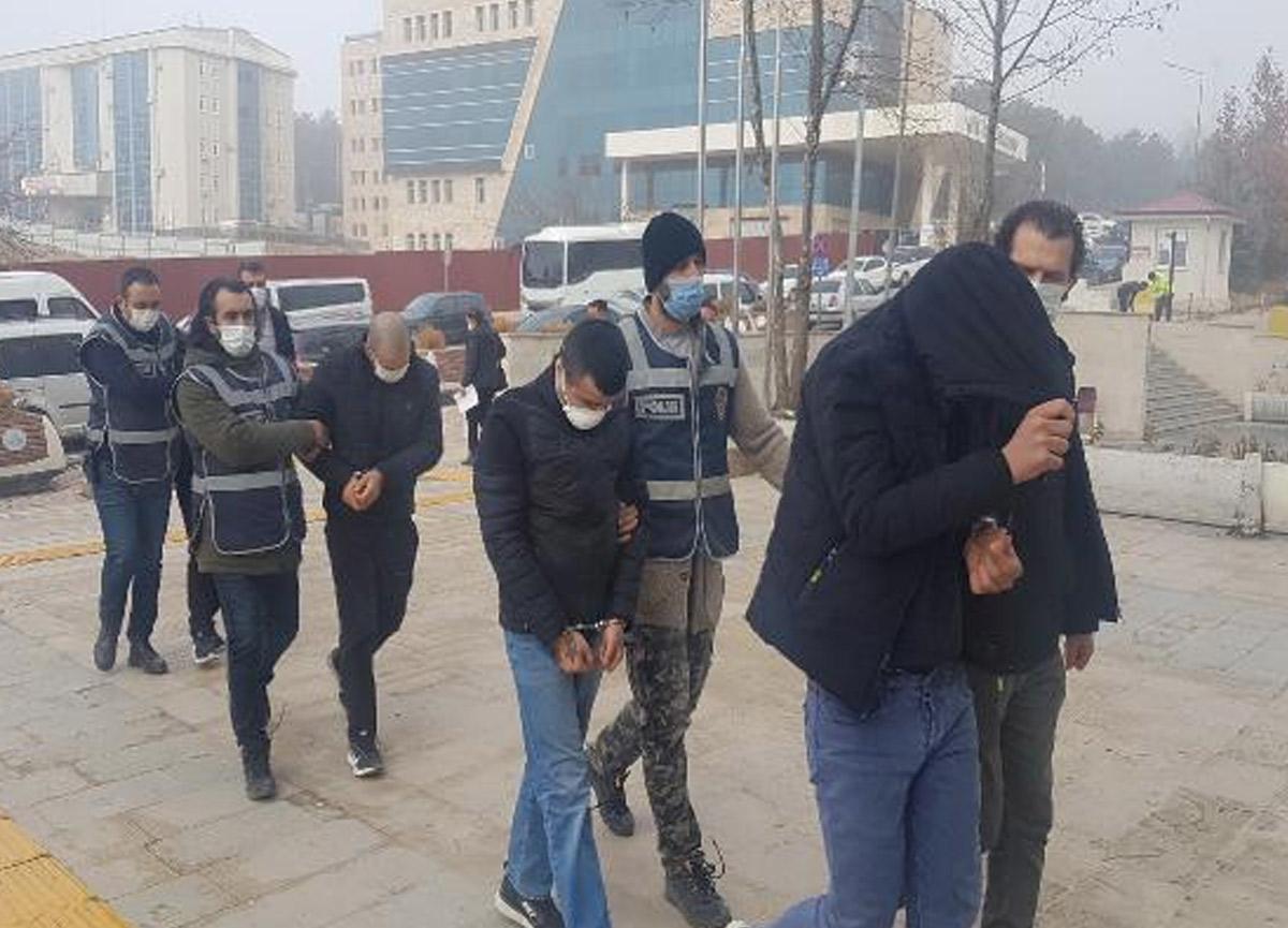 Tutuklanan hırsızların 69 suç kaydı olduğu ortaya çıktı