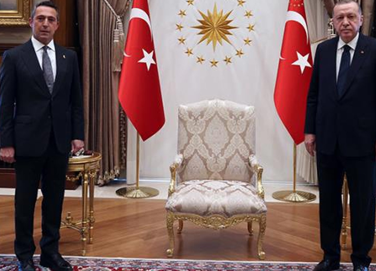 Cumhurbaşkanı Erdoğan'dan Fenerbahçe Başkanı Ali Koç'a Mesut Özil sorusu