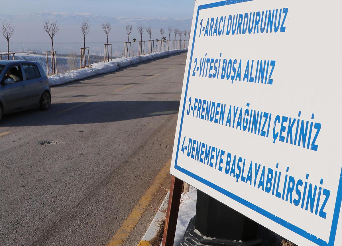 Erzurum'da yer çekiminin olmadığı yer ziyaretçi akınına uğruyor! Görenler gözlerine inanamıyor