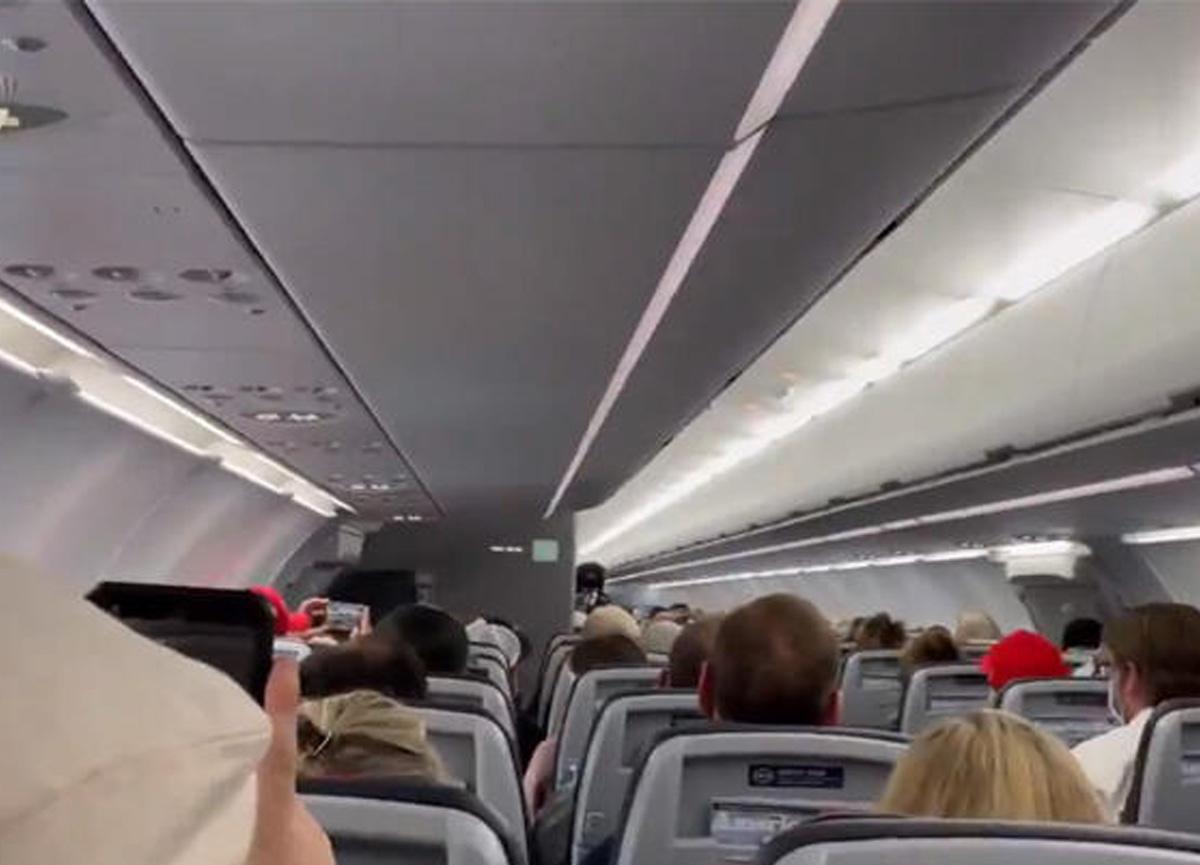 Pilottan şok anons! 'Sizi de oraya atacağız'