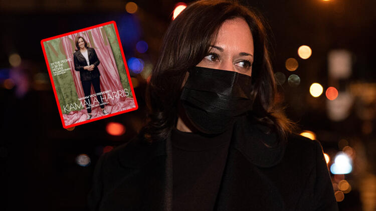 Kamala Harris'li dergi kapağı olay yarattı! Irkçılık...
