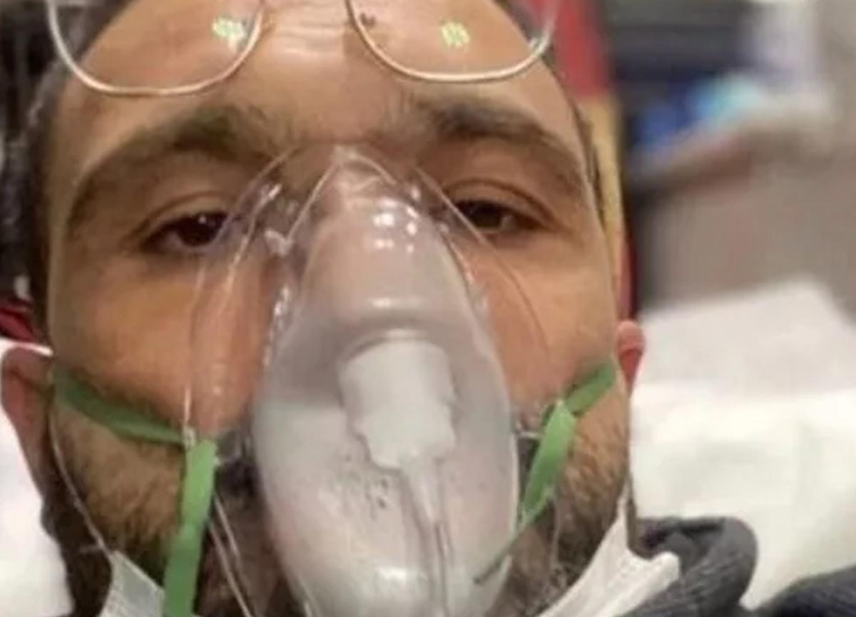 Koronavirüse yakalanan Okan Karacan'ın durumu ağırlaştı, hastaneye kaldırıldı