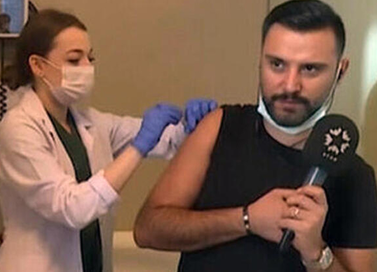 Koronavirüs aşısı olan Alişan, sosyal medyada gündem olunca açıklama yaptı: Ben de gönüllüyüm