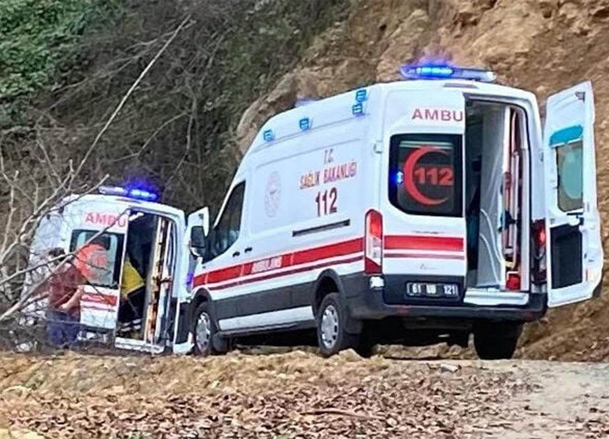 Trabzon'da deli baldan yiyen 2 kişi hastanelik oldu!