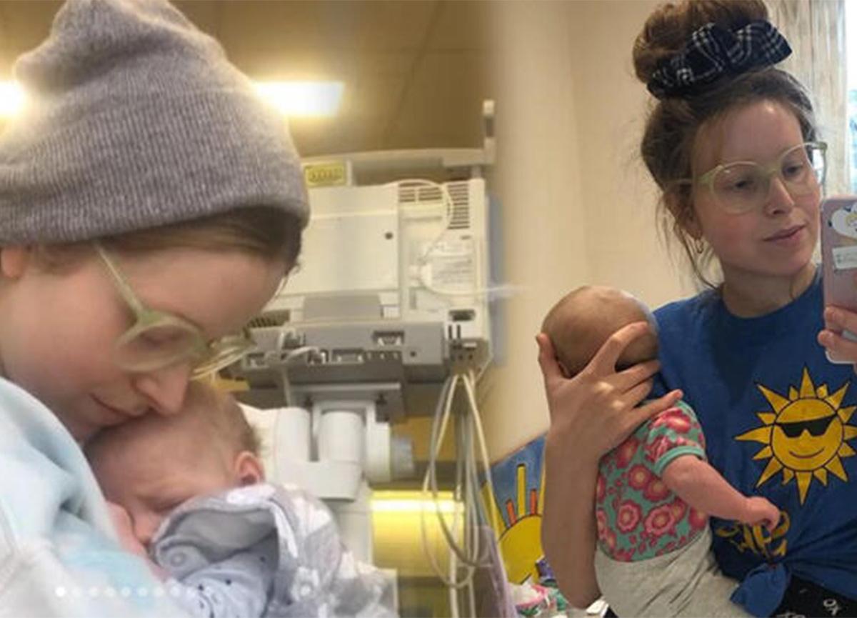 Jessie Cave'in bebeği koronavirüsü yendi