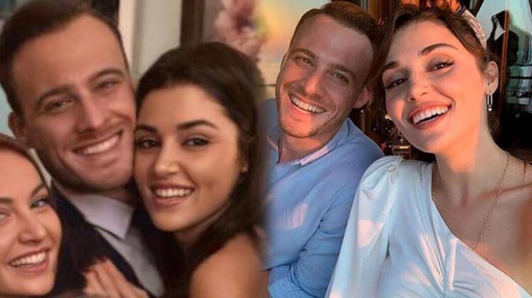 Hande Erçel ile Kerem Bürsin'in samimi halleri yine aşk söylentilerine sebep oldu