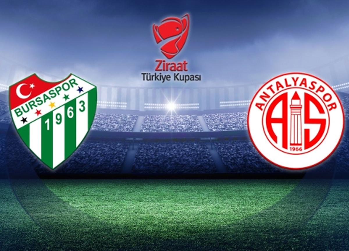 Bursaspor Antalyaspor maçı canlı izle | Bursaspor Antalyaspor kupa maçı saat kaçta hangi kanalda?