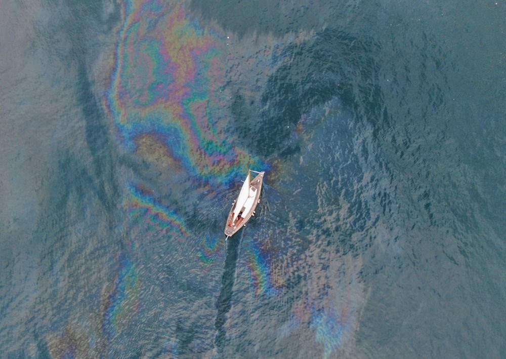 Marmara Denizi'nde tepki çeken görüntü! Denizlerdeki tehdit...
