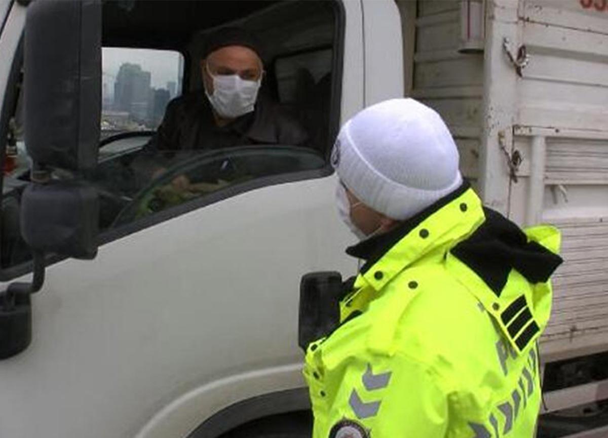 Ceza kesilen sürücünün polise söylediği ilginç sözler!