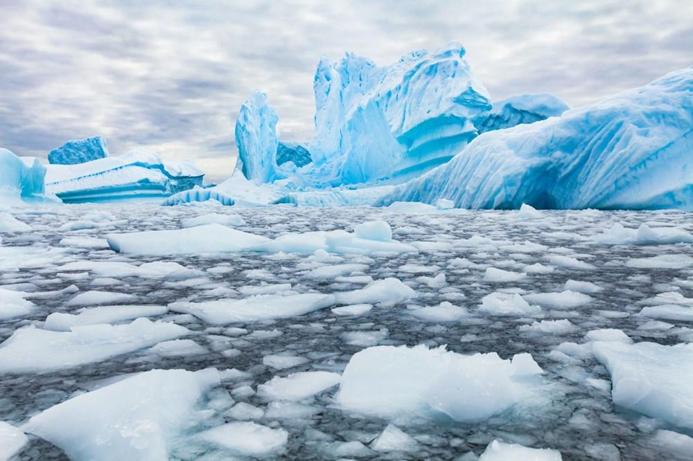 Antarktika'da eriyen buzullar nedeniyle Dünya yeni bir buz çağına sürükleniyor