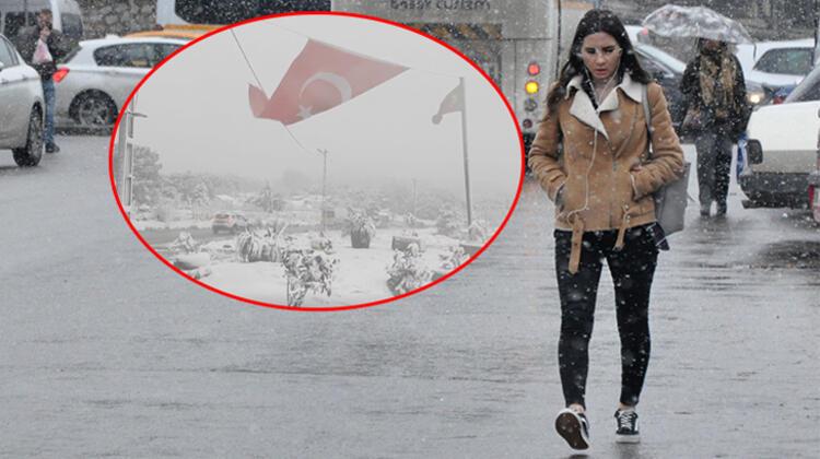 İstanbul hava durumu için açıklanan kar yağışı önümüzdeki hafta sonu etkisini artıracak