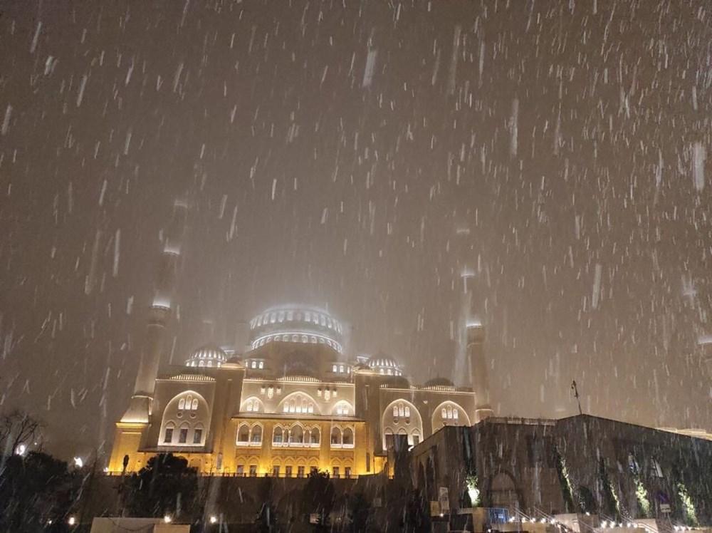 İstanbul'da kar yağışı etkili oldu: İşte Meteoroloji'den ve Valilik'ten yapılan uyarılar