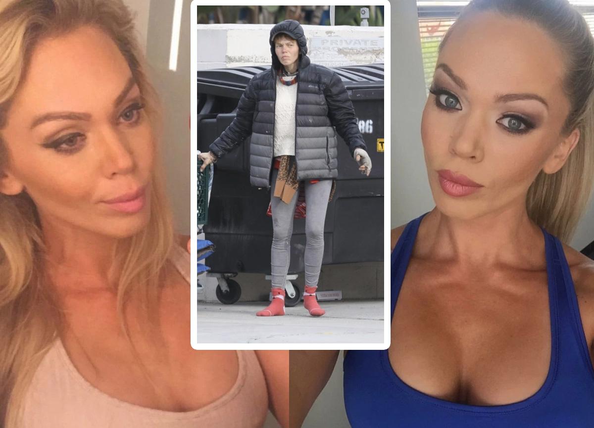 Bir zamanların ünlü modeli Loni Willison artık sokaklarda yaşıyor