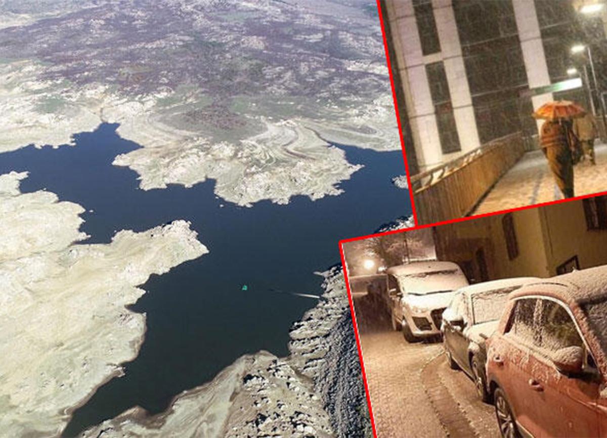 İşte son yağışlarla birlikte İstanbul'daki barajların doluluk oranları