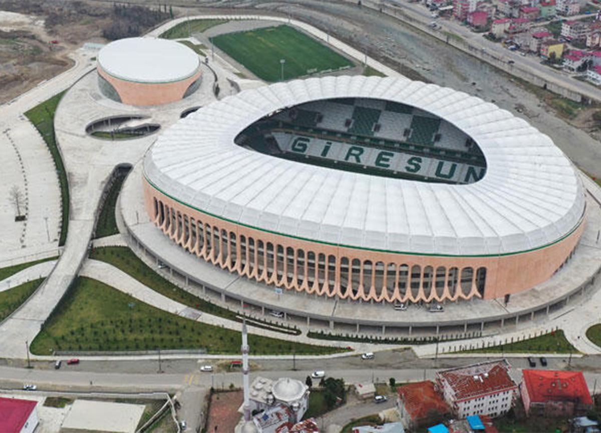 Giresun'da Çotanak Stadı hizmete girmeye hazırlanıyor!
