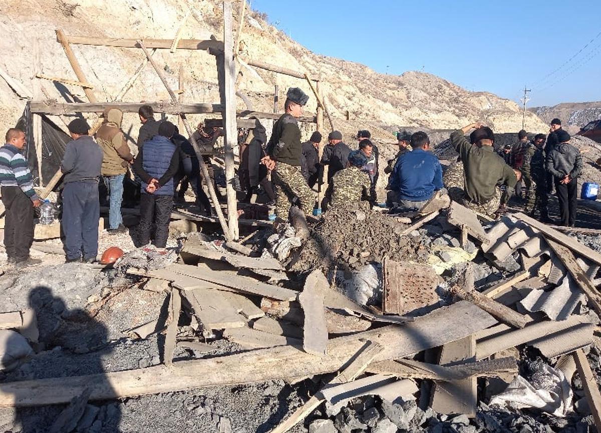 Kırgızistan'da kömür madeninde patlama! 1 kişi yaşamını yitirdi