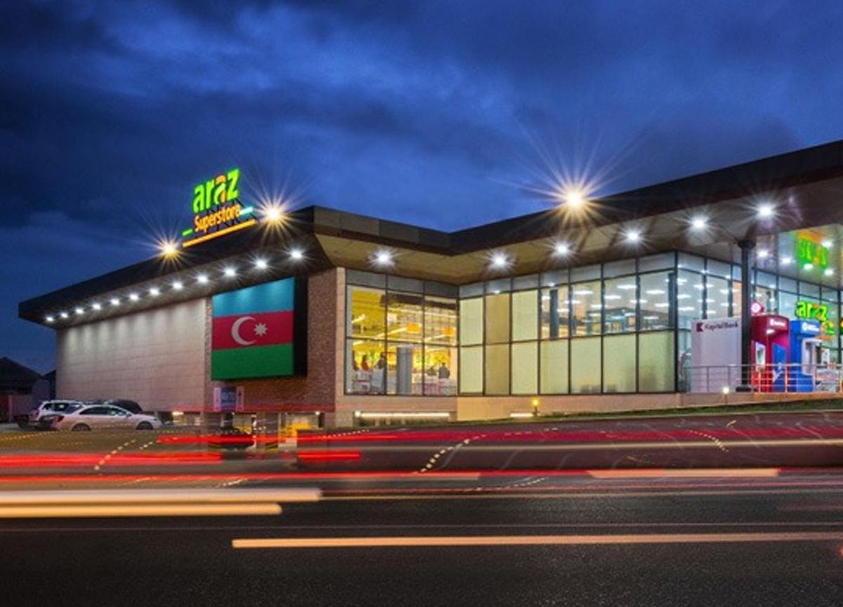 Azerbaycan'da süpermarket zincirinden 4, 5 milyonluk bağış