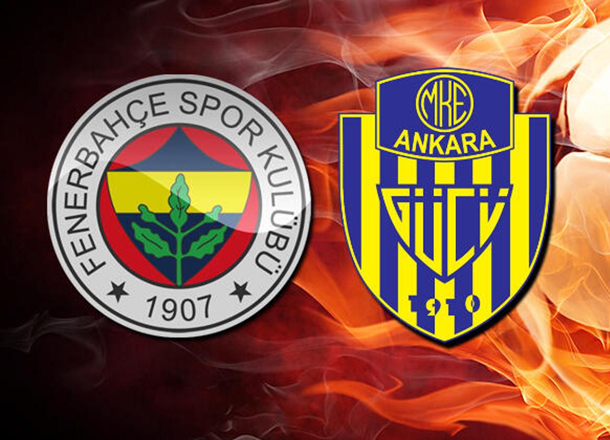 Fenerbahçe Ankaragücü maçı saat kaçta hangi kanalda canlı izlenecek?