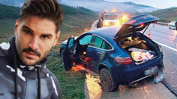 Ünlü oyuncu Tolgahan Sayışman ve arkadaşı trafik kazası geçirdi!
