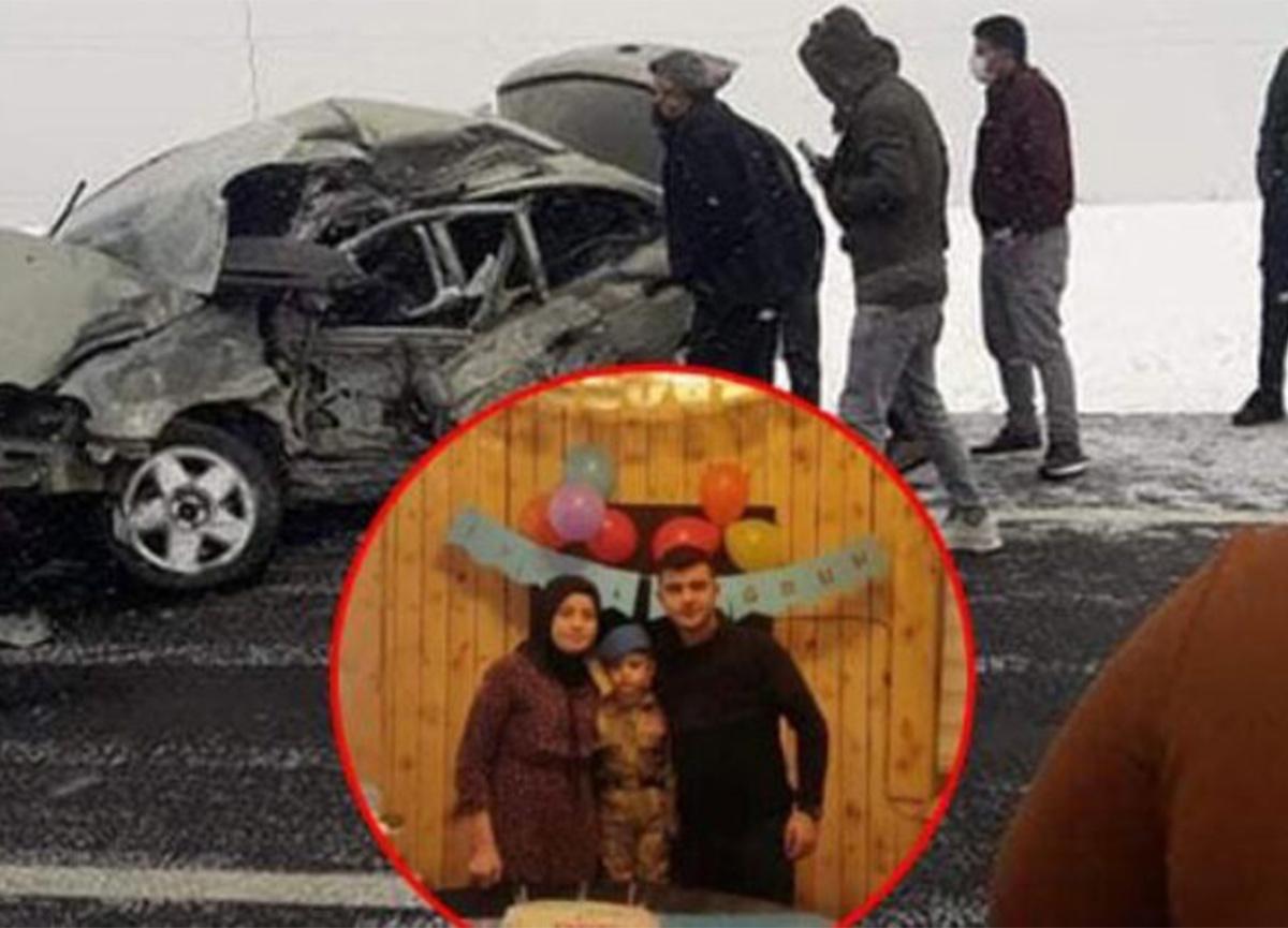 Kars'ta feci kaza! Bir aile yok oldu!