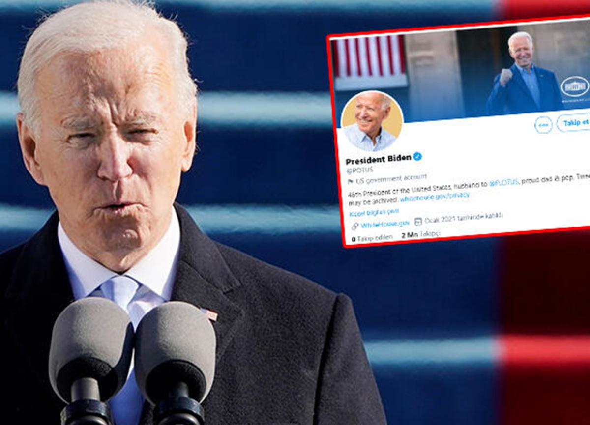 ABD Başkanı Joe Biden, ilk paylaşımını yaptı