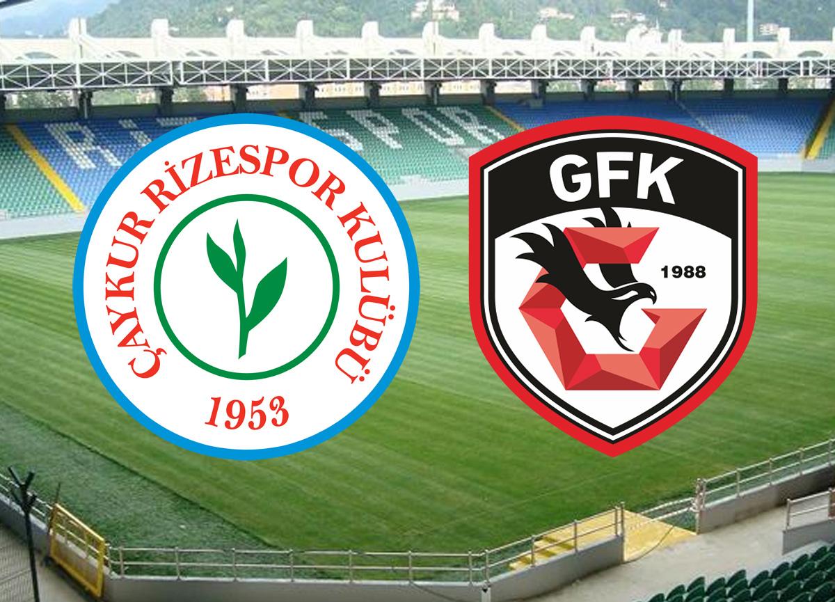 Çaykur Rizespor Gaziantep FK maçı canlı izle | Çaykur Rizespor Gaziantep FK maçı saat kaçta hangi kanalda?