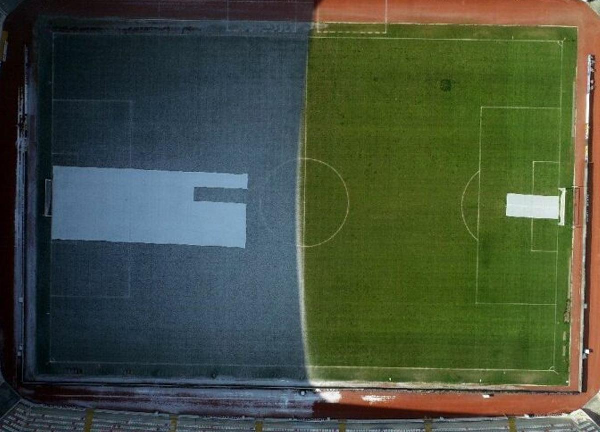 Sivasspor-Fenerbahçe maçı öncesi dikkat çeken görüntü