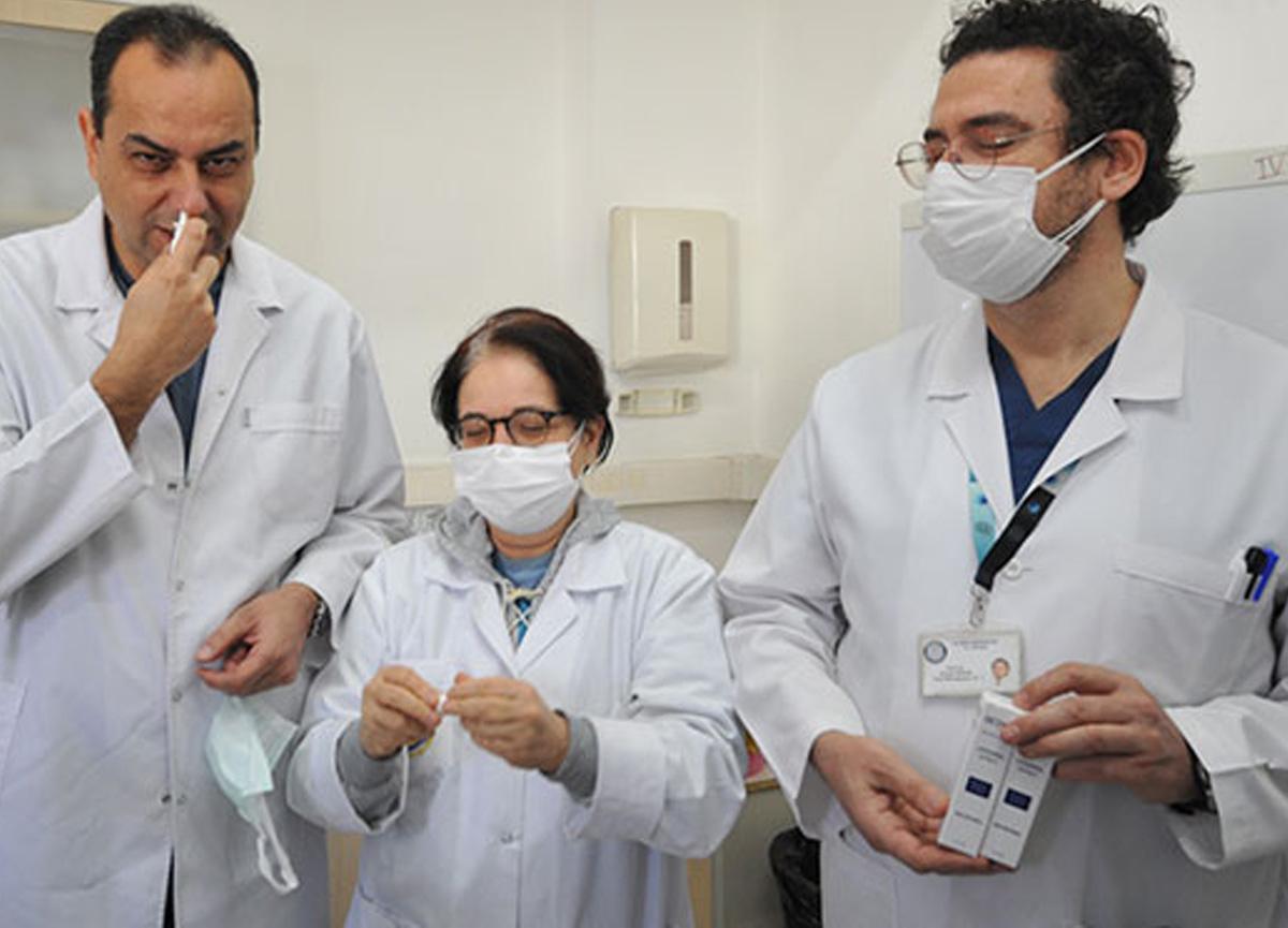 Koronavirüsü 1 dakikada öldüren burun spreyi geliştirildi